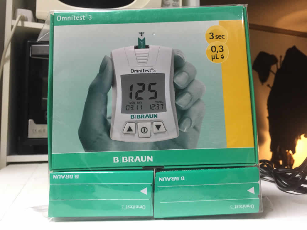 Braun Omnitest 3 blood sugar monitor review