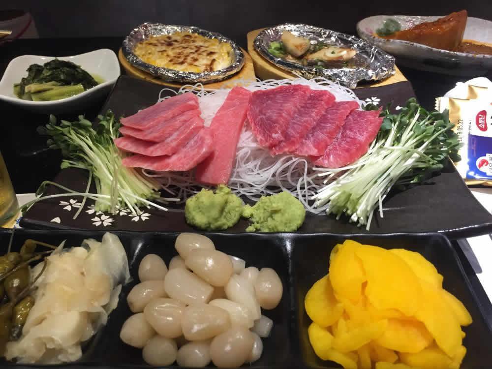 diabetes blood sugar test before and after eating Korean food Japanese food tuna sashimi 참치회