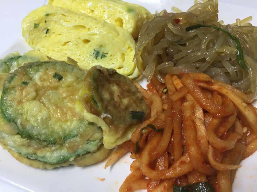 diabetes blood sugar test before and after eating Korean food caresens N vs. accu-check performa kimchi jjigae