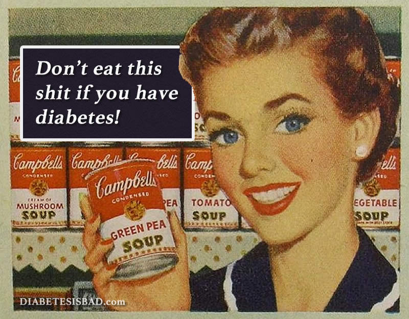campbell's soup and diabetes