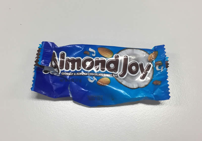 diabetes halloween candy fun size almond joy