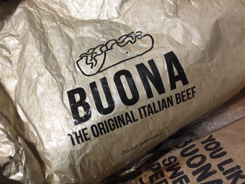 diabetes italian beef portillo's buona beef