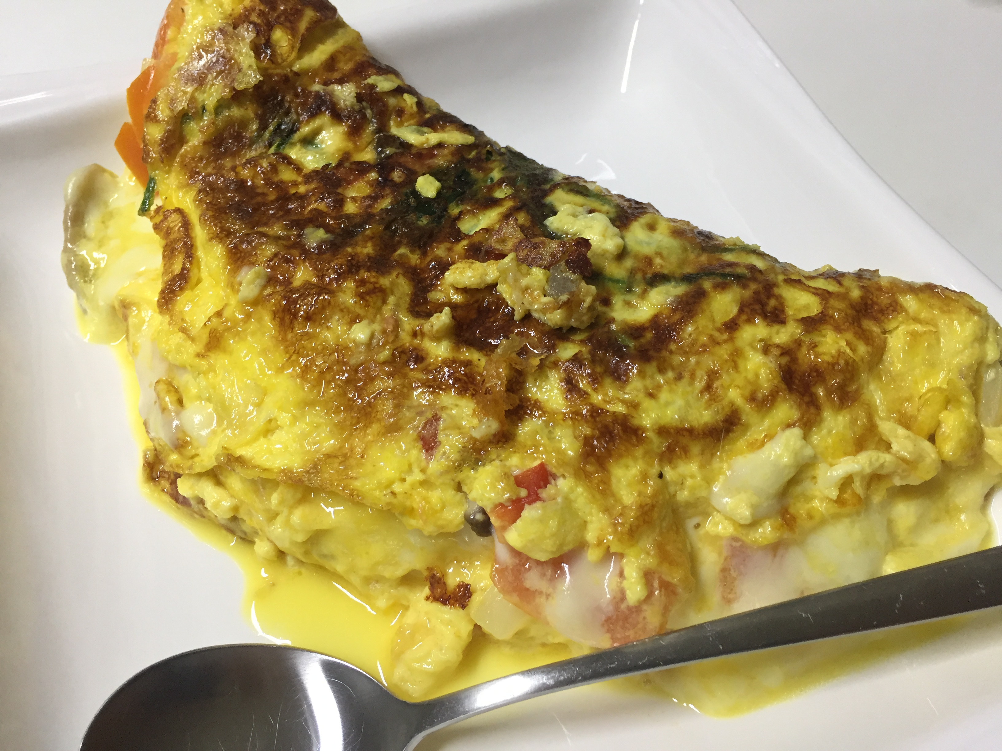 diabetes omelet 4 eggs cheese
