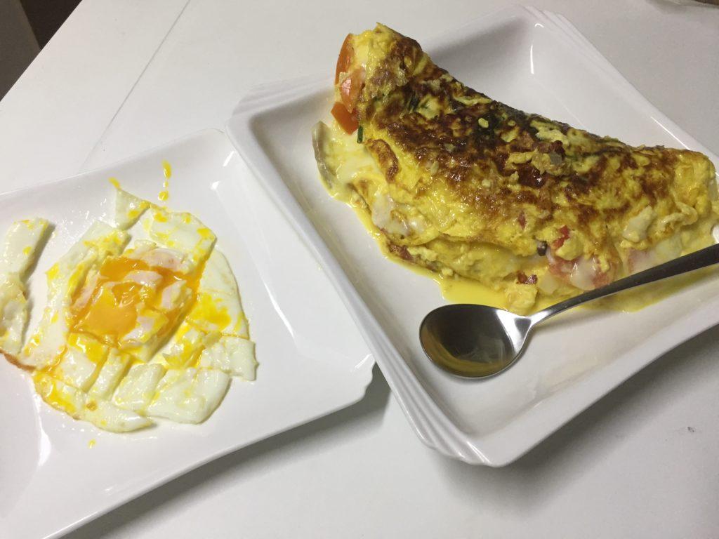 diabetes omelet 4 eggs cheese