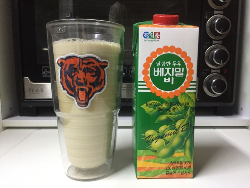 diabetes sweetened soy milk