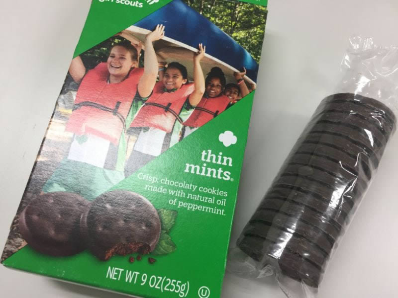 diabetes girl scout cookies