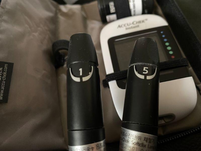 diabetes lancing device lancet numbers