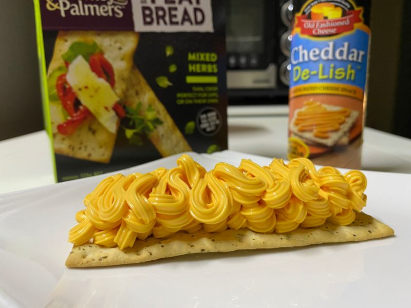 cheez whiz cheese and crackers diabetes blood sugar test canned cheese