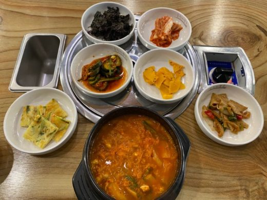 diabetes korean food kimchi jjigae chigae glucose test
