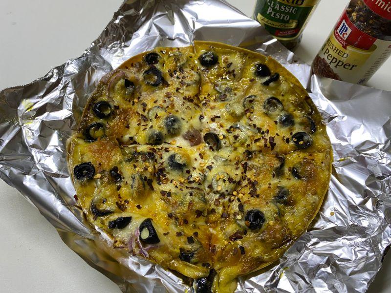 diabetes pizza tortilla pizzilla