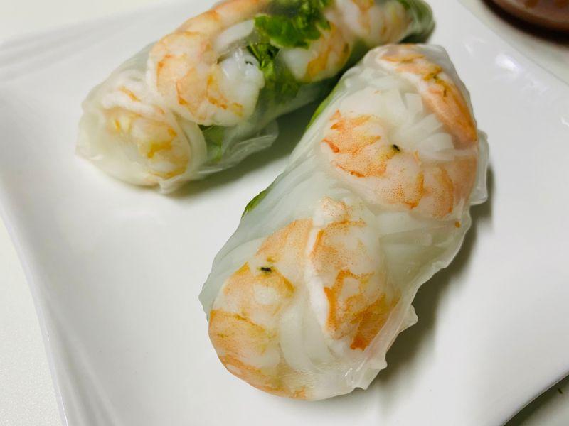 diabetes vietnamese spring rolls rice paper rice noodles