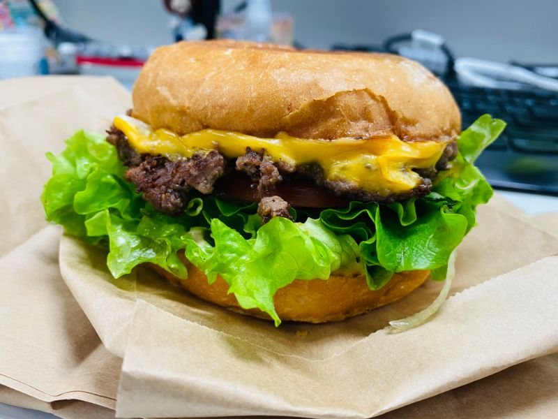diabetes cheeseburger