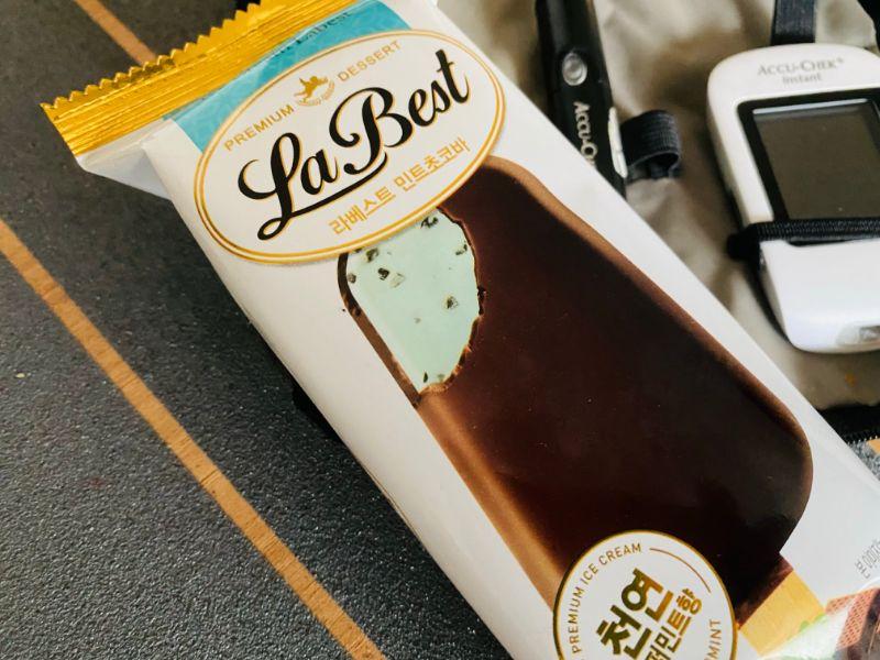 diabetes ice cream bar mint chocolate chip